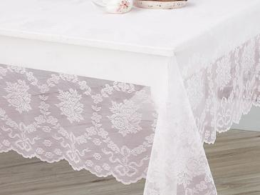 Rose Branch Table Cloth 150x150 Cm Light Pink