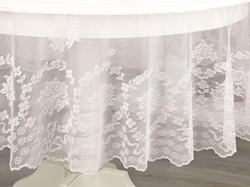 Rose Branch Table Cloth 180 Cm Light Pink