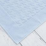 Pure Basic Foot Towel 50x70 Cm Blue