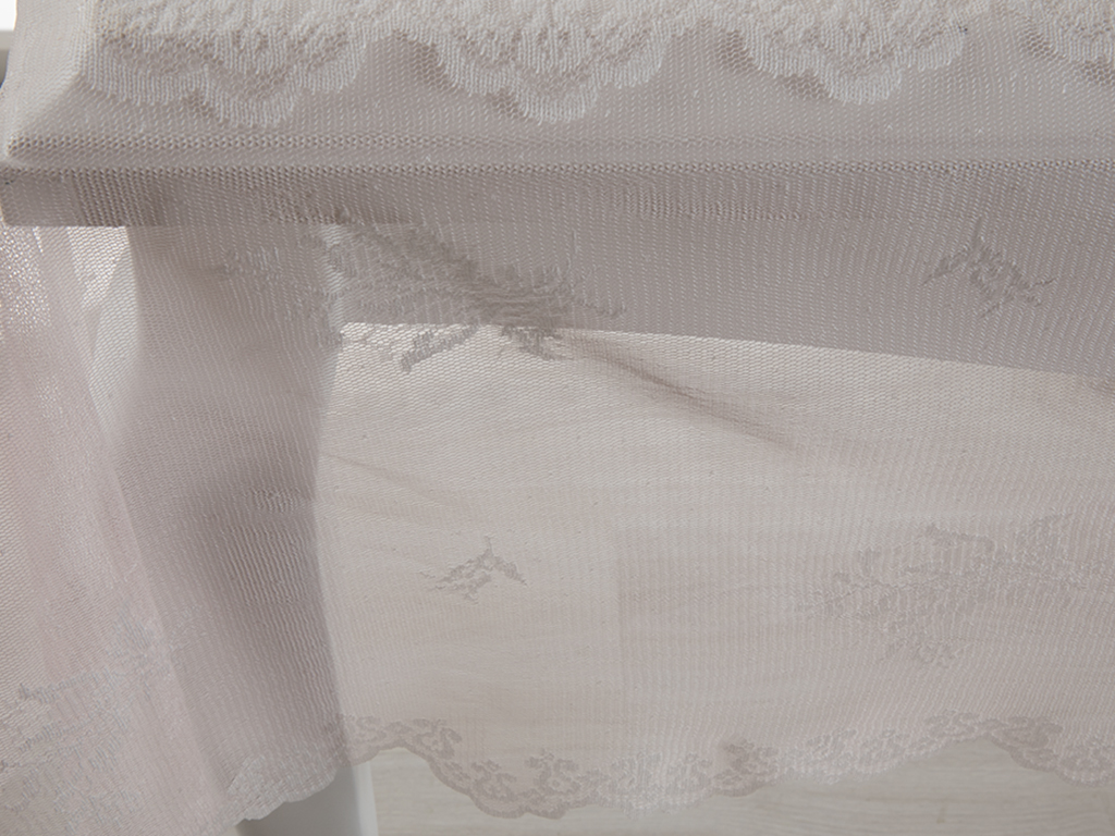Tulip Table Cloth 150x220 Cm Beige-Pink