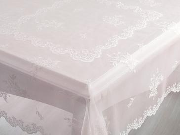 Tulip Table Cloth 180 Cm Beige-Pink