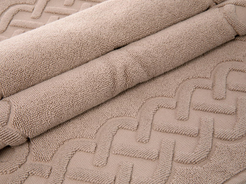 Pure Basic Foot Towel 50x70 Cm Light Brown