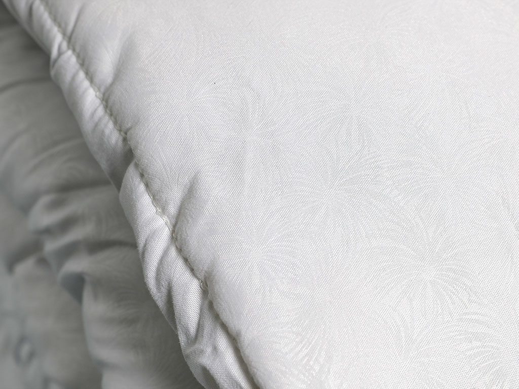 Bamboo Basic Quilt Set Double Size 195x215 Cm White