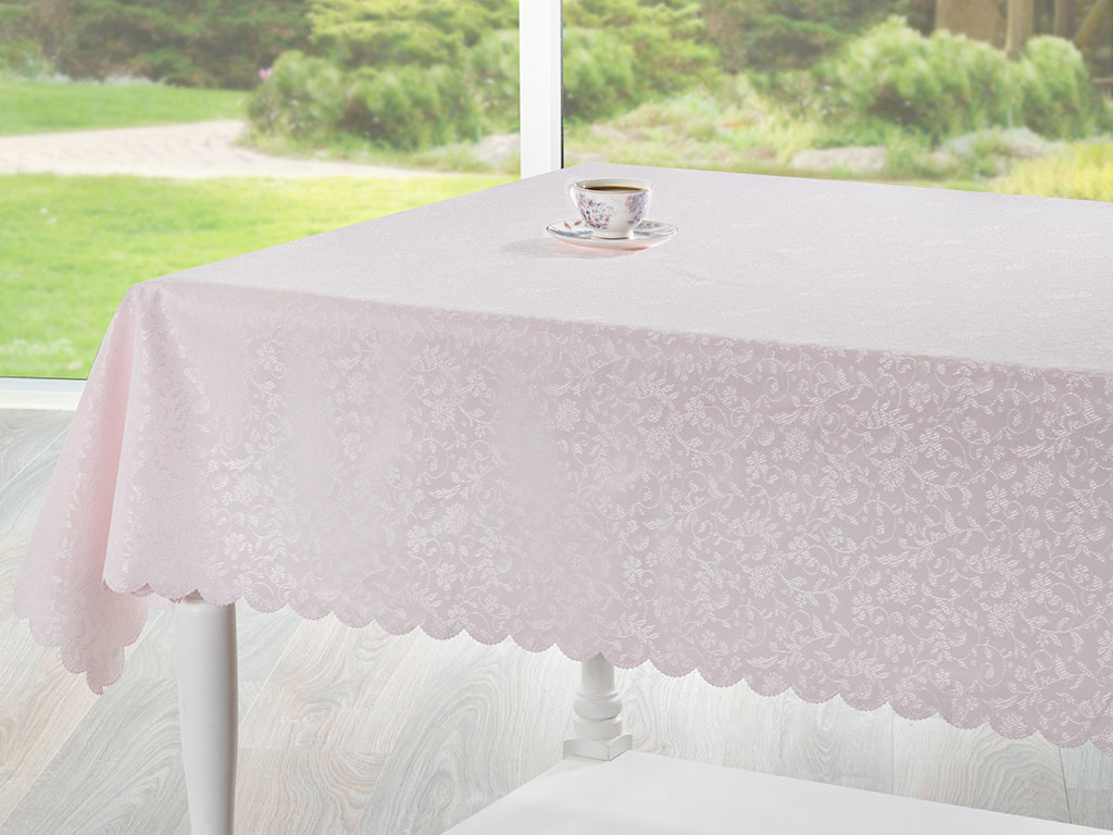 Lola Table Cloth 150x200 Cm Pink