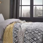 Urban Cotton Blanket Double Size 200x220 Cm Gray