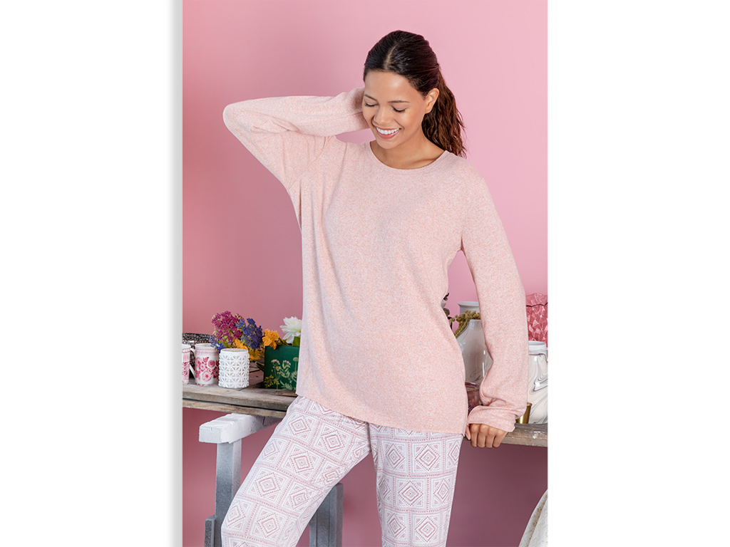 Geostitch Women's Pajamas Set L Pink