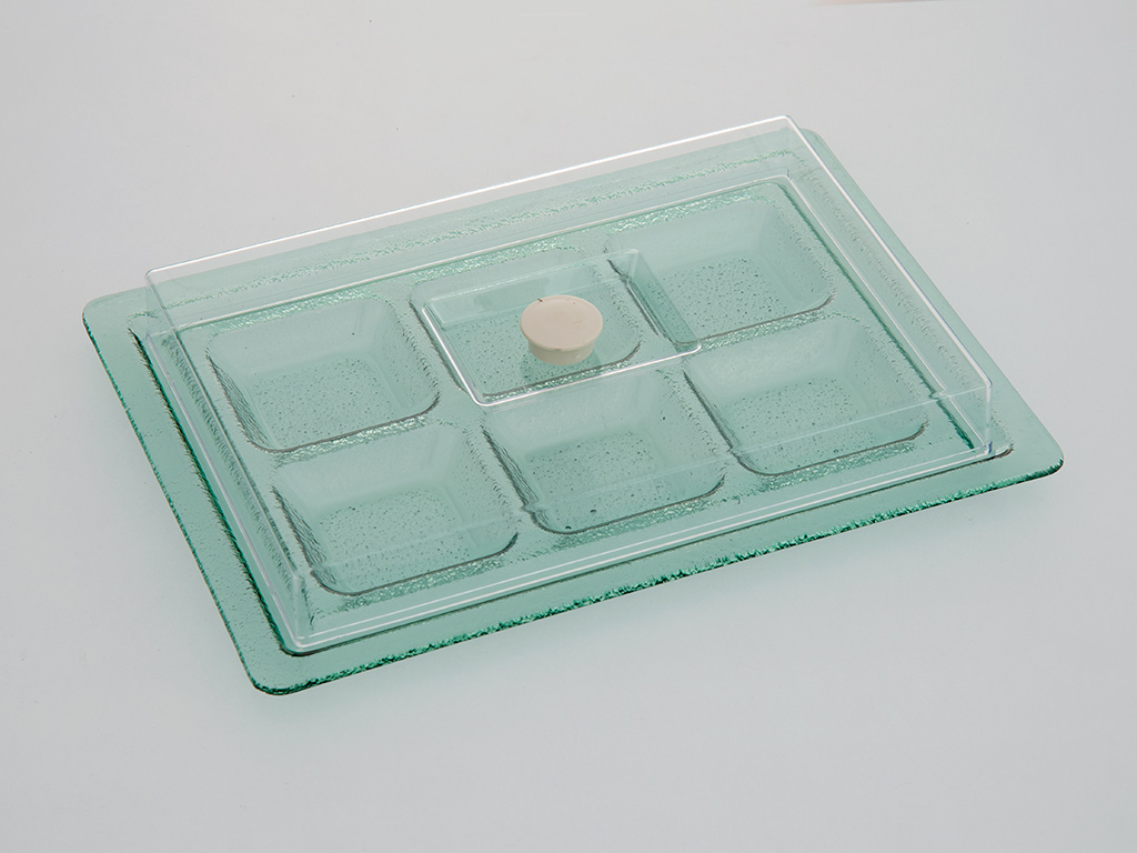 Mathilda Breakfast Container 36x26 Cm Green