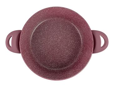 Pure Granit Cooking Pot 26 Cm Maroon