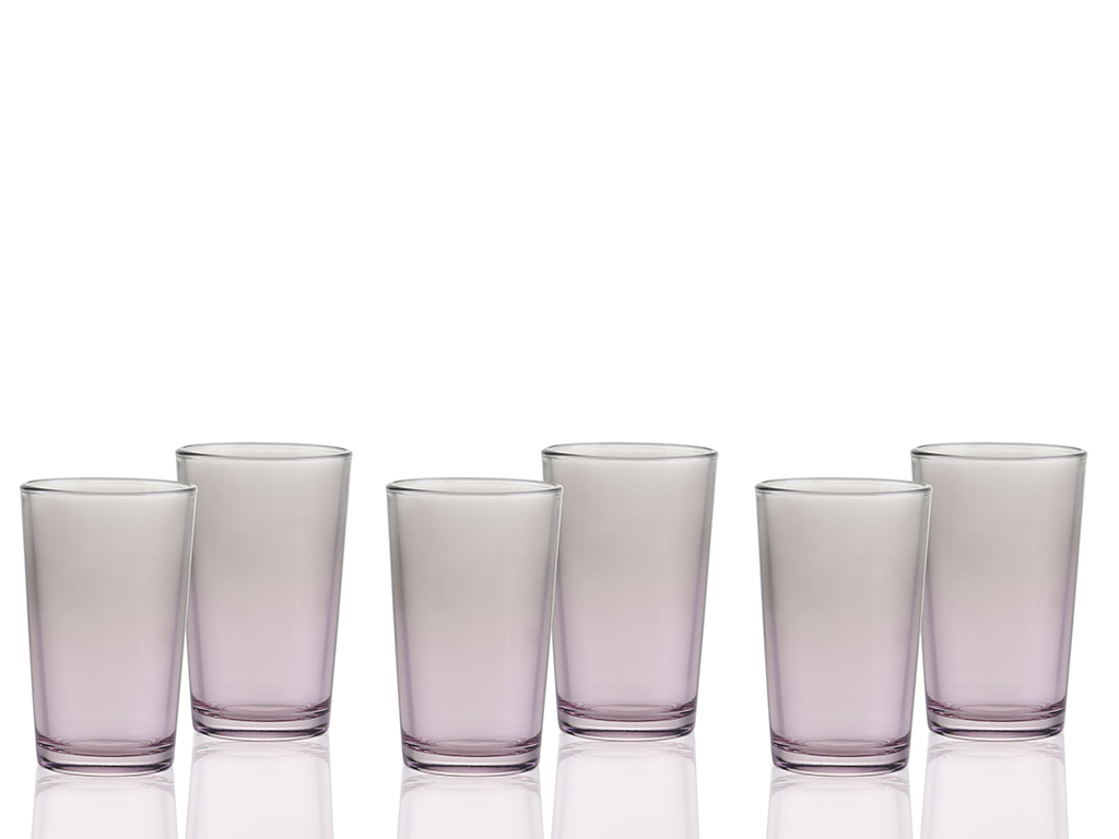 Degetto Water Glass 100 ml Gray - Pink