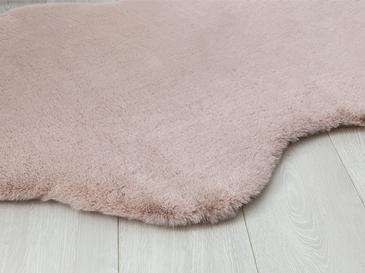 Rabbit Fake Fur Carpet 90x150 Cm Powder