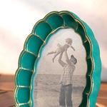 Ethnic Touch Frame 13,7x2,7x18,8 cm Green