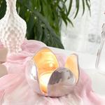 Chick Tulip Candle Holder 12,2x12,2x9 Cm Pink