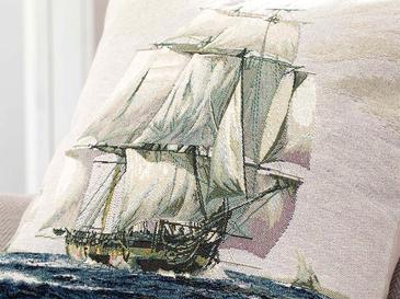 Sailer Cushion Cover 45x45 Cm Blue