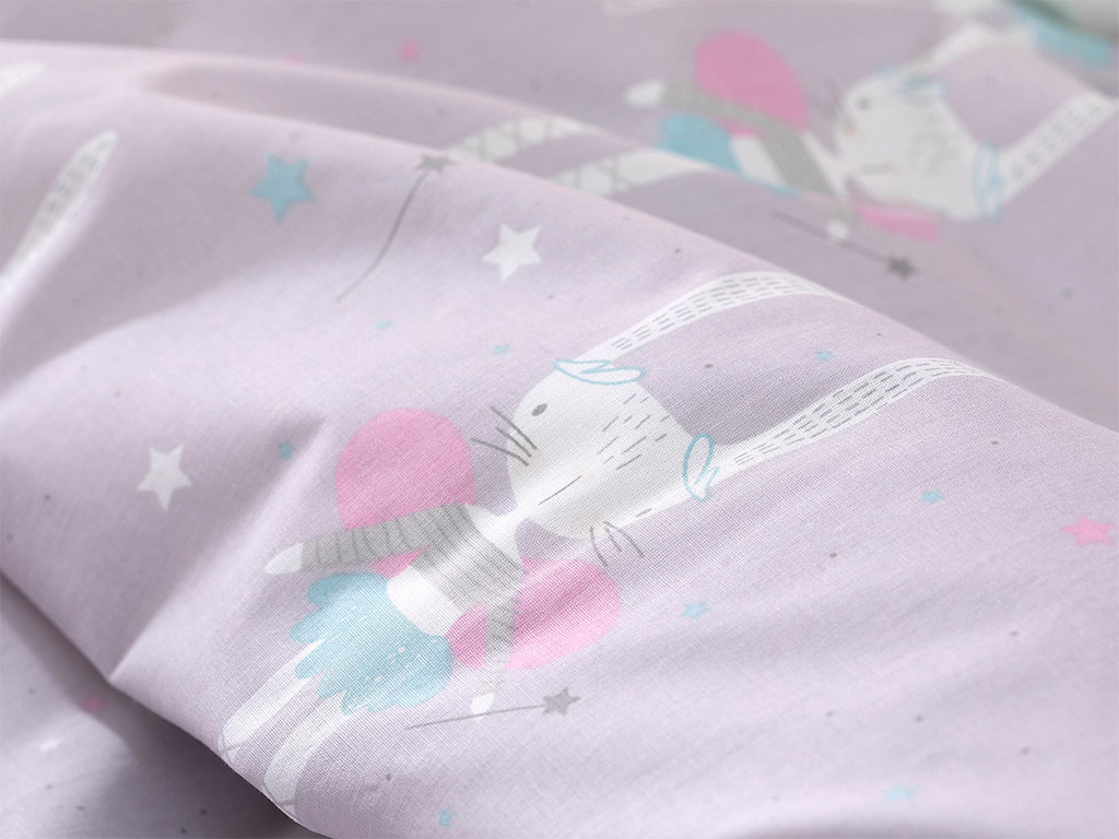 Magic Rabbit Baby Duvet Cover Set 100x15