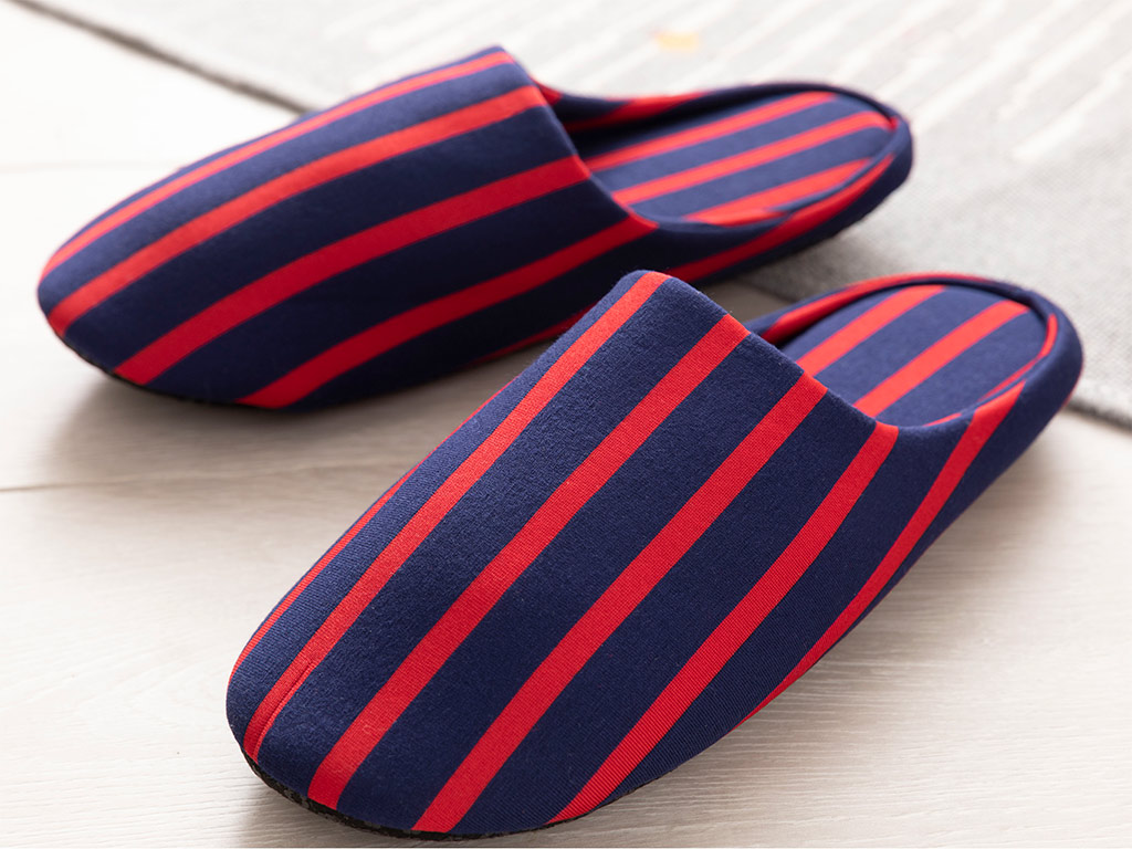Wesley Men's Home Slippers 40-42 Navy Blue