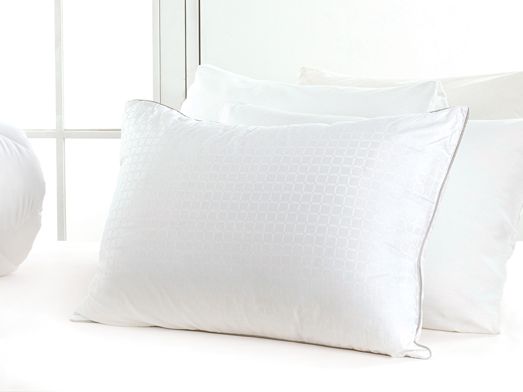 Aura Fiber Pillow 50x70 Cm Gray