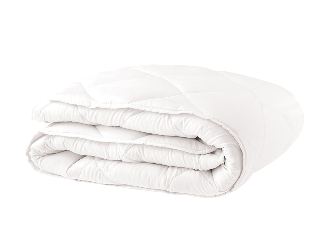 Siesta Microfiber Quilt Double Size 195x215 Cm White