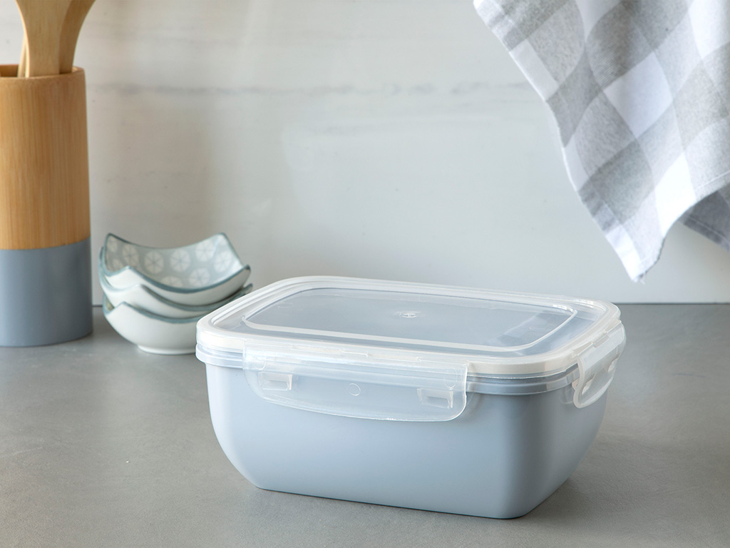 Stella Storage Box 1500 Ml Gray