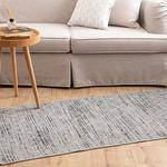 Diamond Cotton Rug 80x150 Cm Light Grey