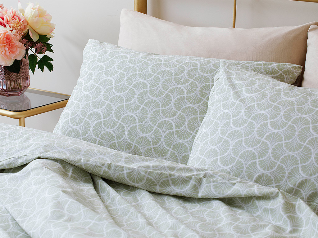 Artdeco Duvet Cover Set 160x220 cm Green