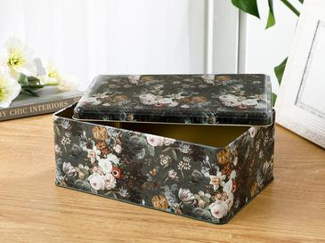 Retro Rectangular Decorative Box 17,3x26,3 Cm