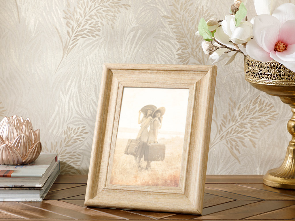 Wooden Frame 13x16 cm Brown
