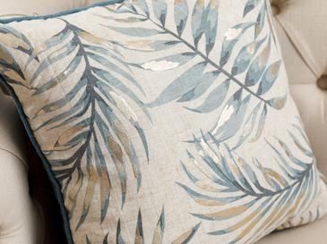 Palm Trees Cushion Cover 45x45 Cm Beige