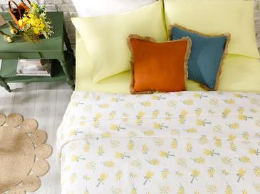 Mimosa Summer Blanket Double Size 200x220 Cm White