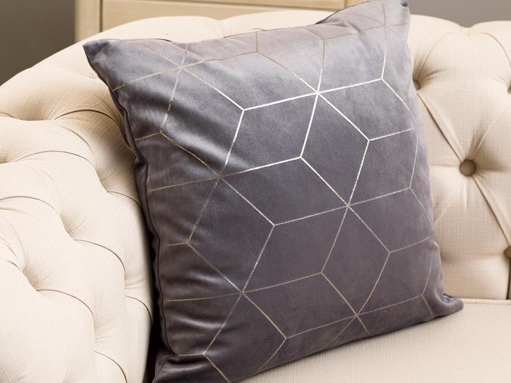 Artdeco Cushion Cover 45x45 cm Gray