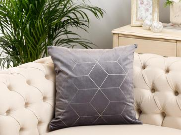Artdeco Velvet Cushion Cover 45x45 Cm Gray