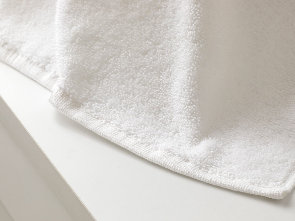 White Collection Hand Towel 30x30 Cm White