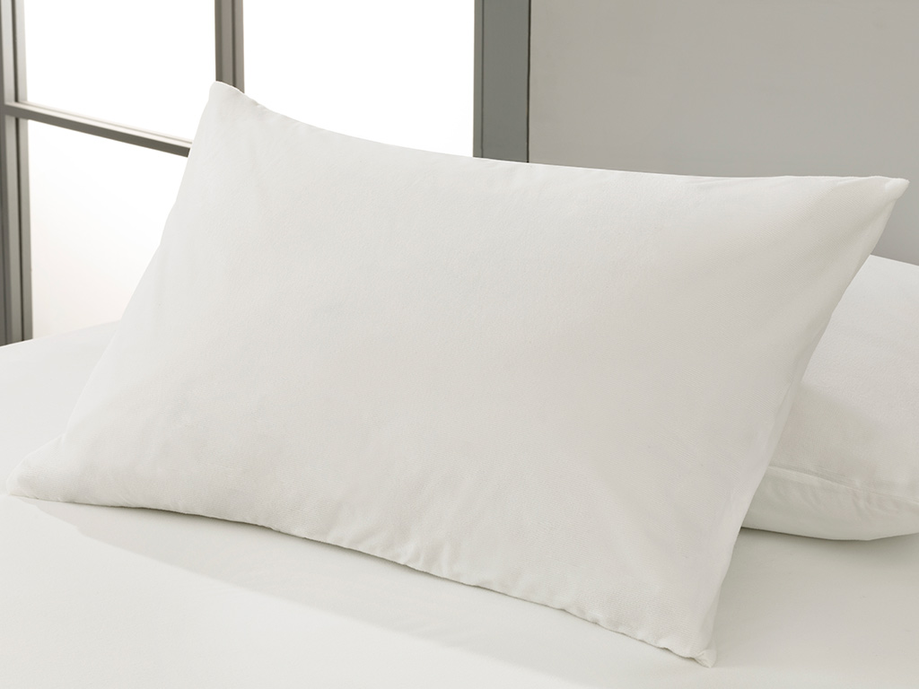 Fresh Touch Waterproof Pillow Protector 50x70 Cm White