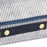 Thin Stripe Polypropilen Storage Box 30x23x11 Cm Navy Blue