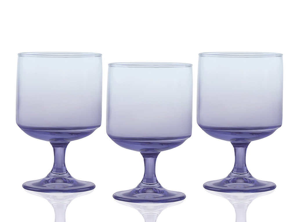 Degetto Glass 3 Set Cup 300 Ml