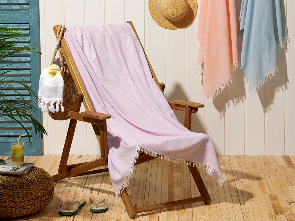 Beach Love Prosop SPA 100x170 Cm Lila
