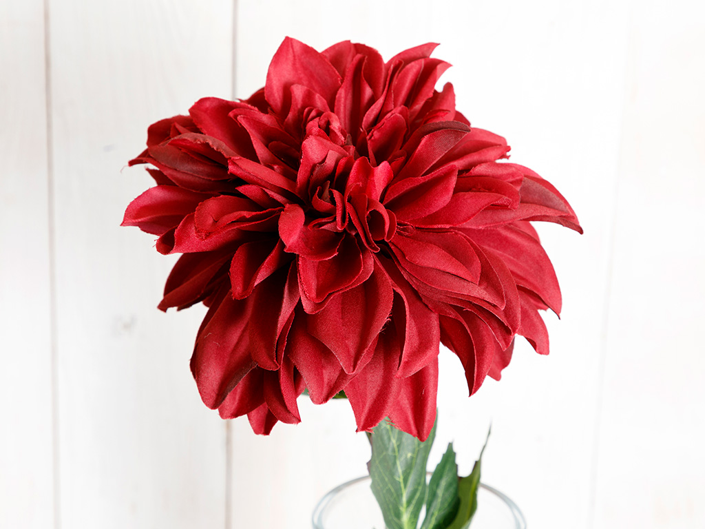 Dahlia Artificial Flower 77 Cm Damson