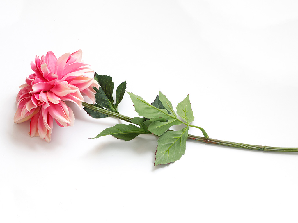 Dahlia Artificial Flower 75 Cm Pink