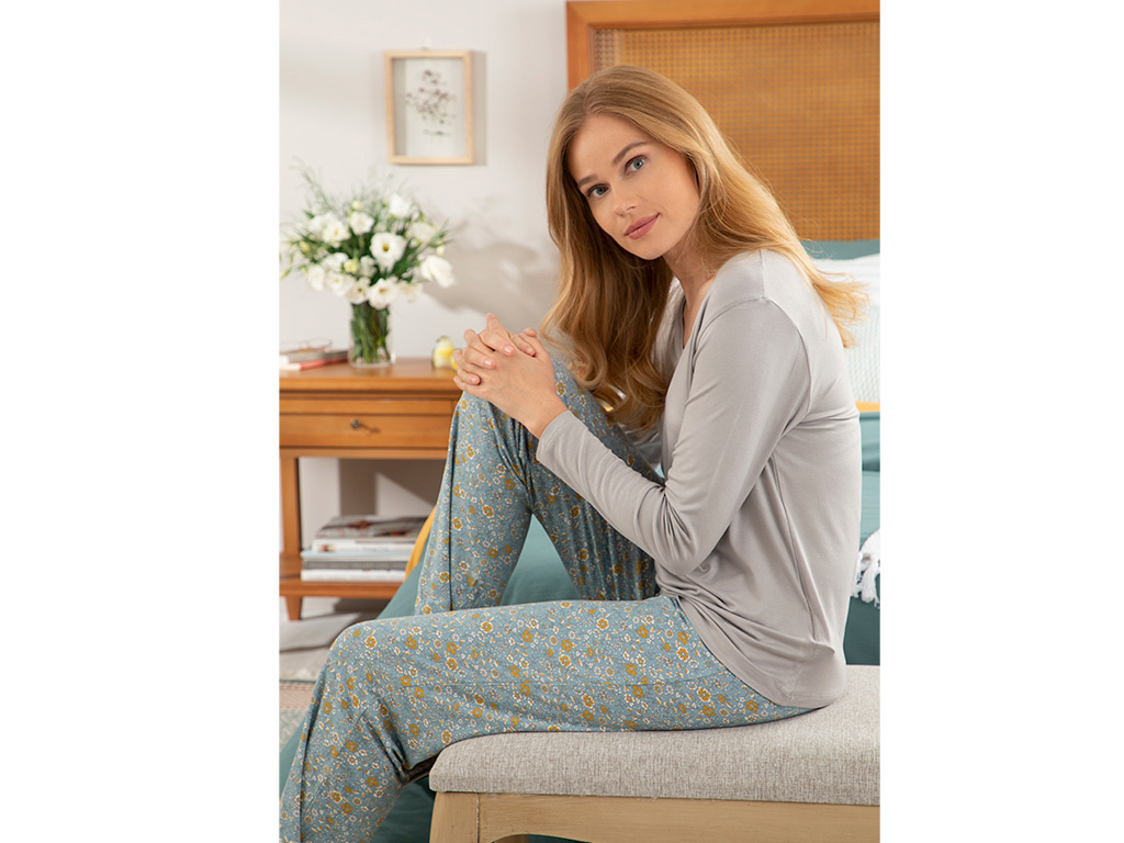 Urban Liberty Women's Pajamas Set M Blue