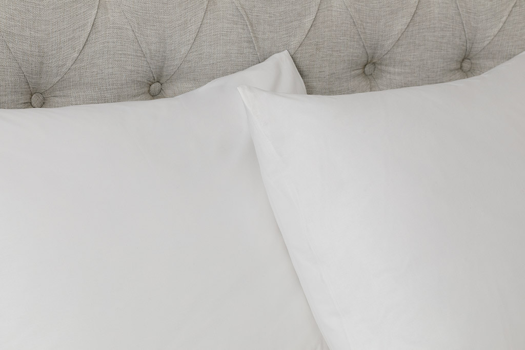 White Collection Cotton Duvet Cover Full Set Single Size 160x220 Cm White