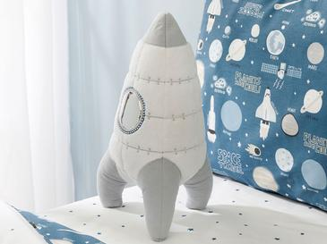 Space Decorative Pillow 36x19 White