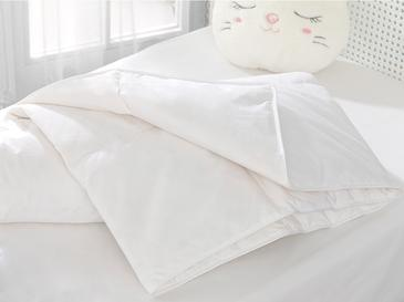 Soft Goose Down Baby Quilt 95x145 Cm White
