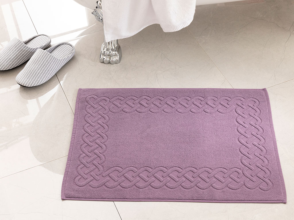 Pure Basic Feet Towel 50x70 Cm Dark Violet