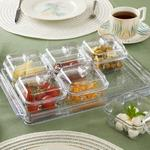 Axel Acrylic Breakfast Container 35 Cm Transparent