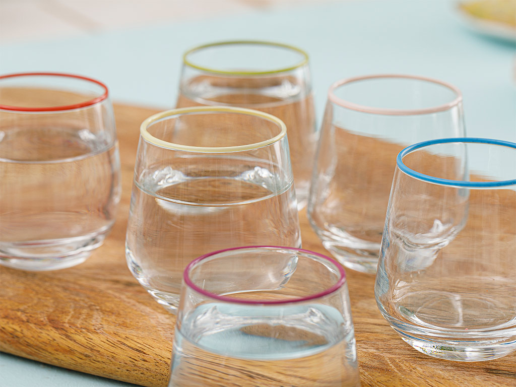 Lena Water Glass 6 Piece 115 Ml