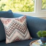 Fascia Cushion Cover 45x45 Cm Grey