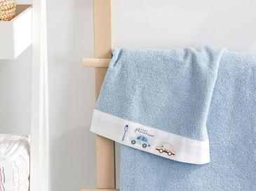 Mini Cars Cotton Baby Hand Towel 30x40 Cm Blue