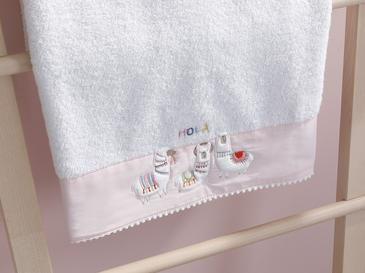 Lama Cotton Baby Bath Towel 70x130 Cm White