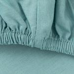 Plain Cotton Fitted Bed Sheet Double Size 160x200 Cm Seledon