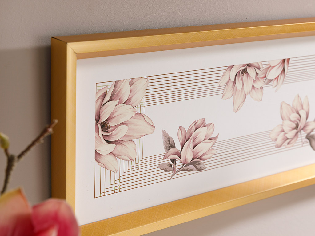 Magnolia Bundle Picture Frame 52x21 Cm Powder