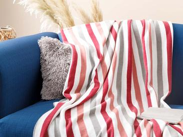 Stripe Polar Patura TV 120x170 Cm Roz